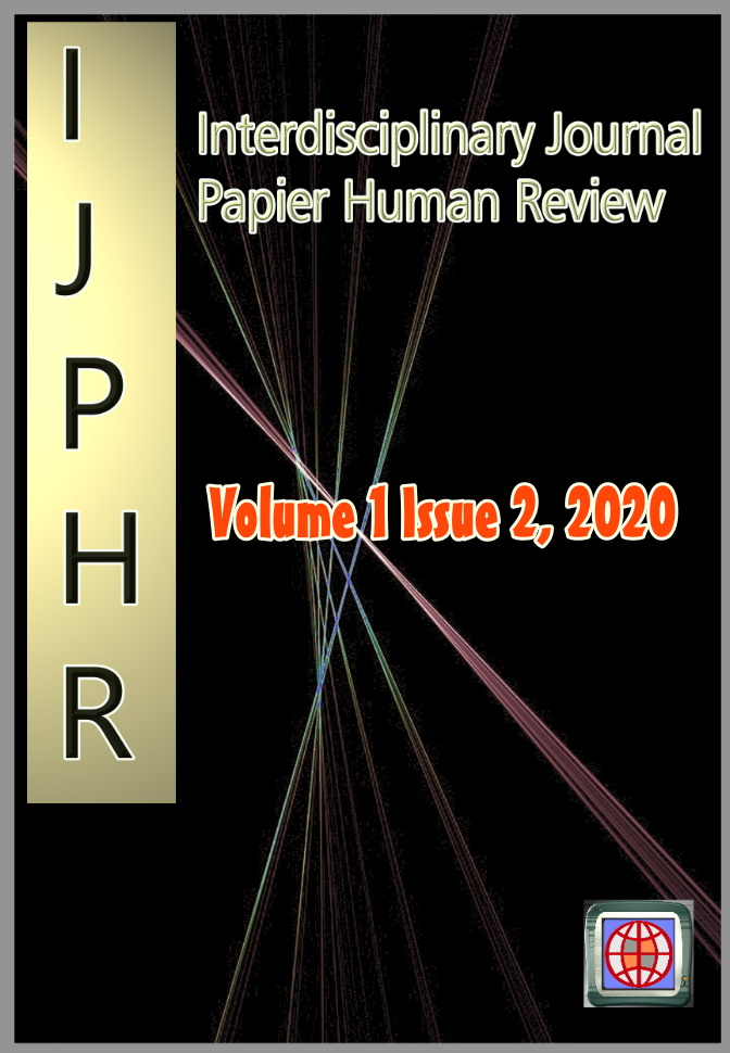View Vol. 1 No. 2 (2020): Interdisciplinary Journal Papier Human Review