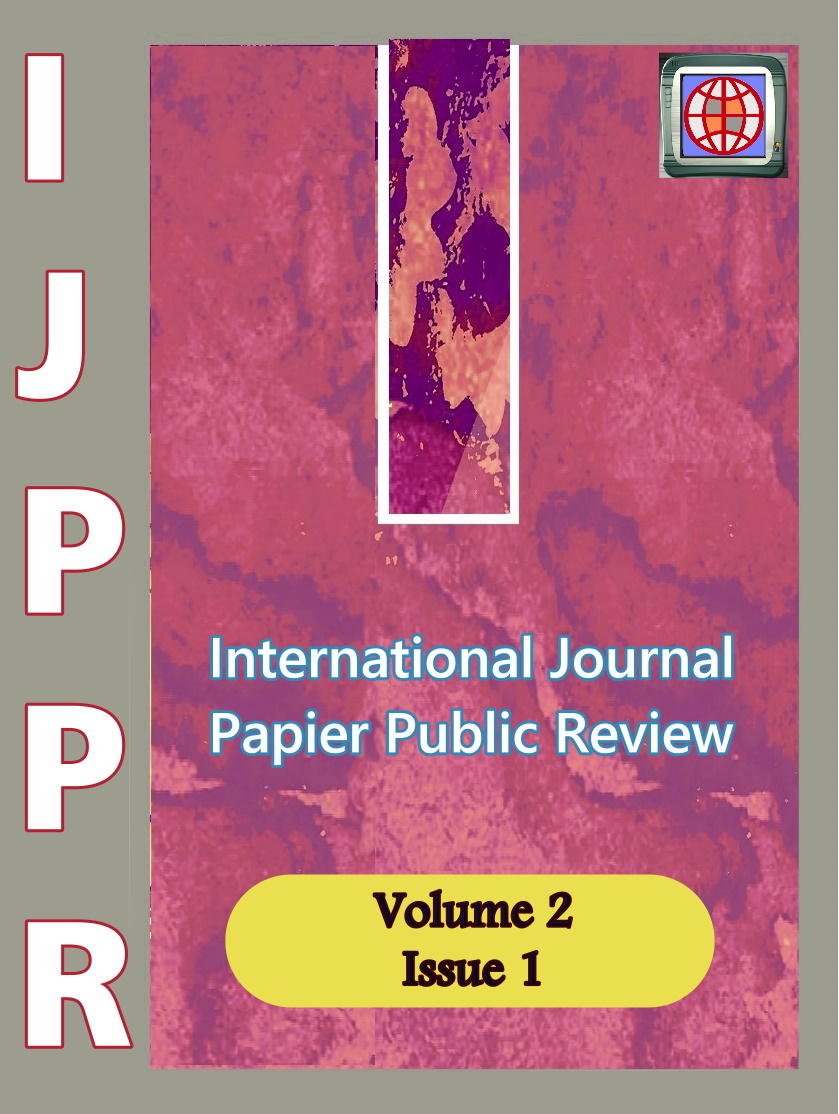 View Vol. 2 No. 1 (2021): International Journal Papier Public Review