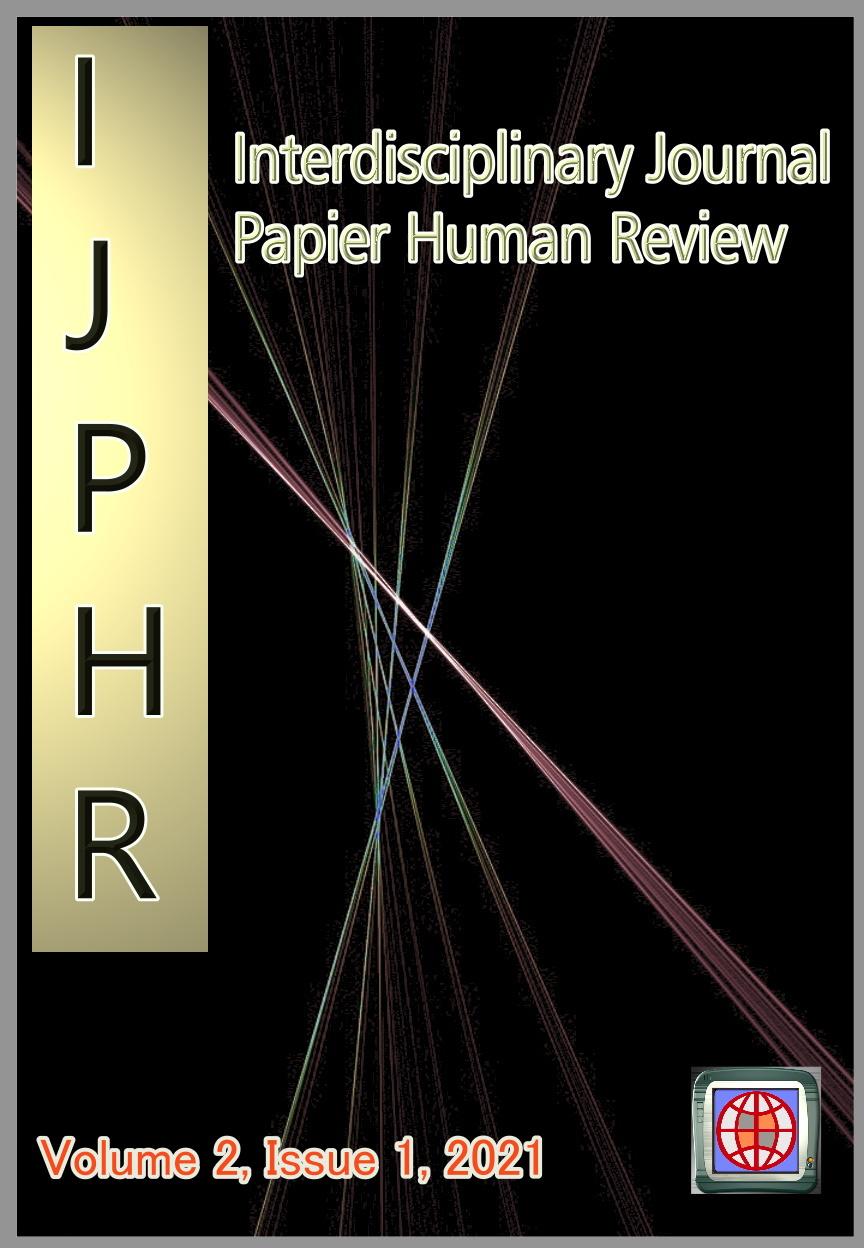 View Vol. 2 No. 1 (2021): Interdisciplinary Journal Papier Human Review