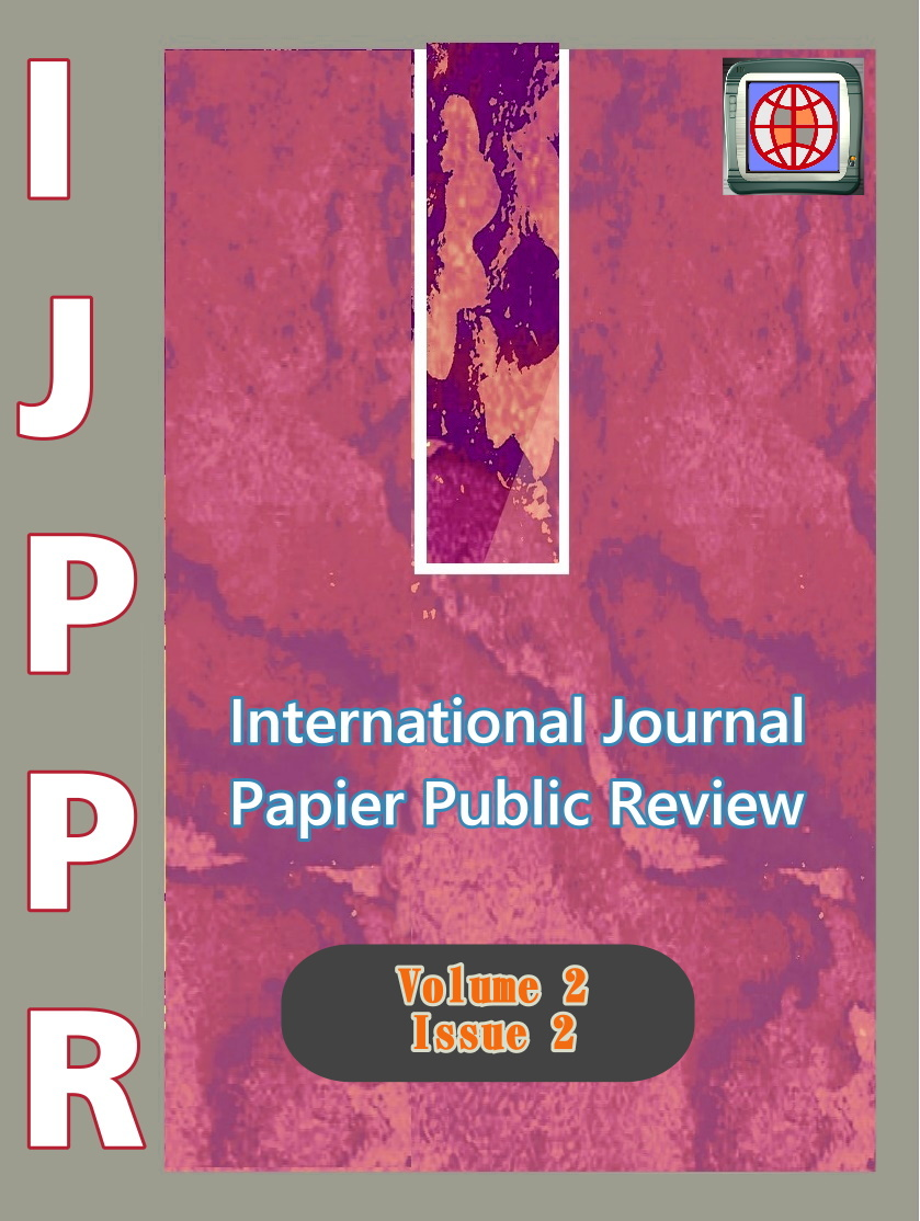 View Vol. 2 No. 2 (2021): International Journal Papier Public Review