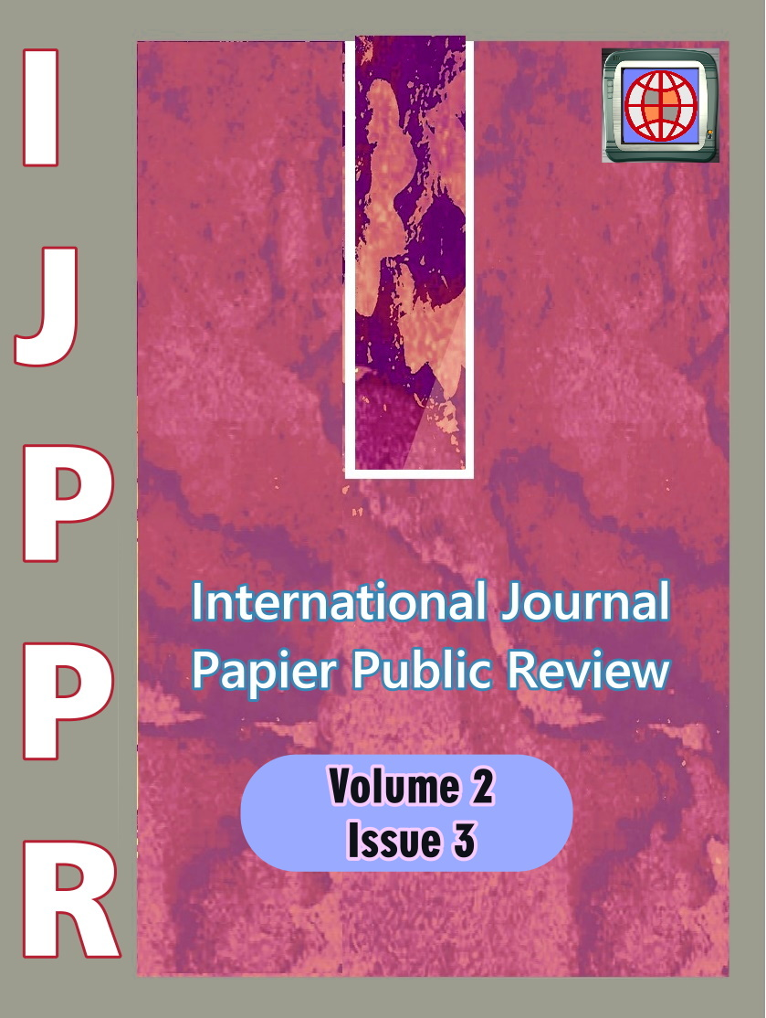 View Vol. 2 No. 3 (2021): International Journal Papier Public Review