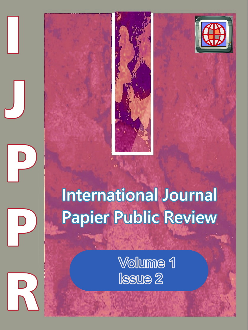 View Vol. 1 No. 2 (2020): International Journal Papier Public Review